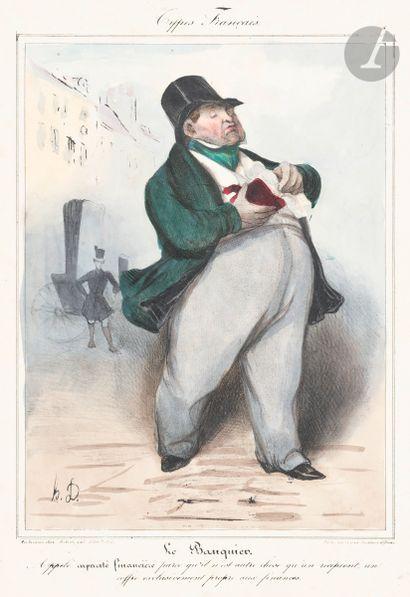 Honoré Daumier (1808-1879) Le Petit clerc;...