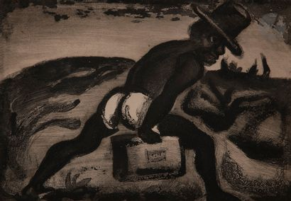 Georges Rouault (1871-1958) Le Noir libéré....