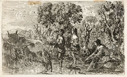 Claude Gellée, dit Le Lorrain (vers 1600-1682)...