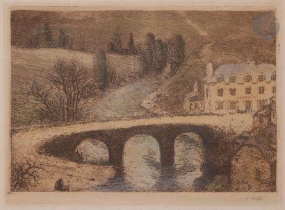 Eugène Viala (1859-1913) La Mouline, ou L'Auberge....