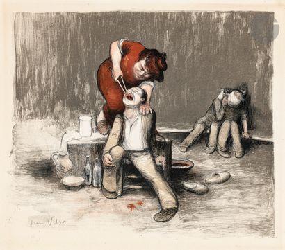 Jean Veber (1864-1928) L'Arracheuse de dents....