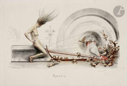 Jean Veber (1864-1928) Dynamis, ou La Houille...