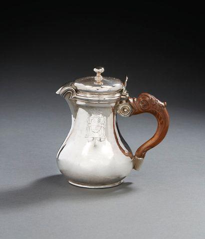 PARIS 1775-1776 Petite cafetière à fond...