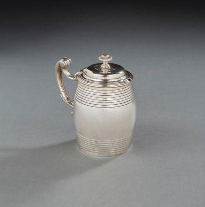 SALINS 1768-1769 Moutardier couvert en...