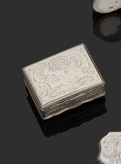 LILLE 1766-1767 Tabatière en argent de...
