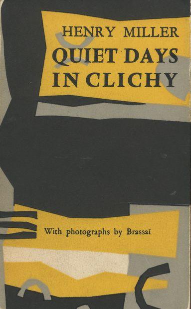 BRASSAÏ (GYULA HALASZ, DIT) (1899-1984) MILLER,...