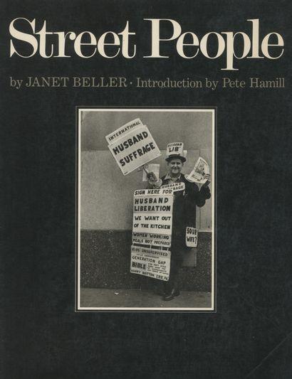 BELLER, JANET [Signed] Street People. MacMillan,...