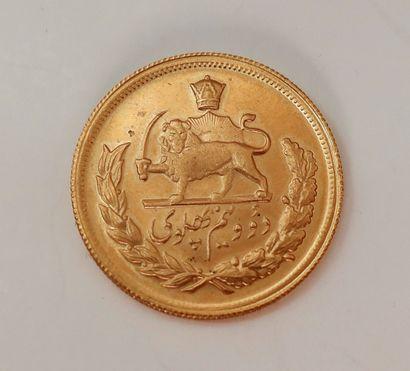 1 pièce de 2,5 Pahlavi en or (22K), dans...