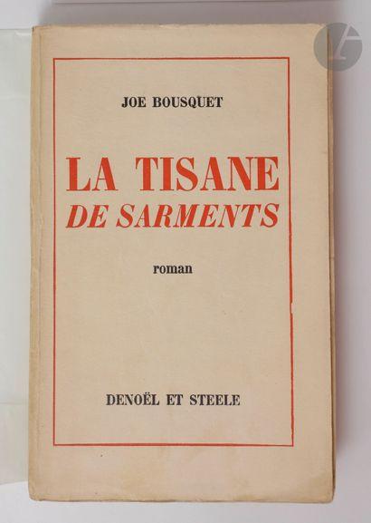 BOUSQUET (Joë). La Tisane de Sarments. Roman....