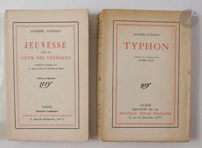 CONRAD (Joseph). Typhon. Traduit de l'anglais...