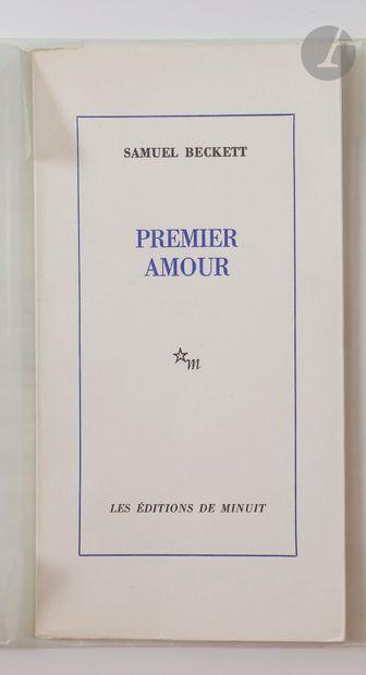 BECKETT (Samuel). Premier amour. Paris :...