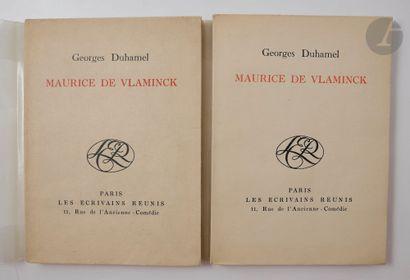 DUHAMEL (Georges). Maurice de Vlaminck. Paris...