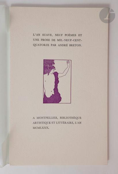 BRETON (André). Ensemble de 5 ouvrages :...