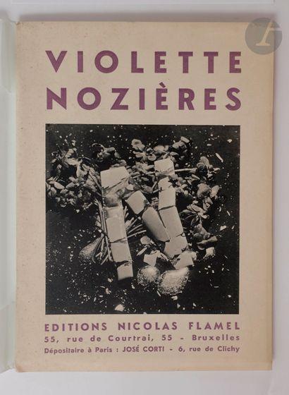[BRETON (André) - CHAR (René)…]. Violette...