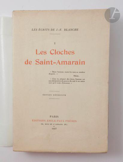 BLANCHE (Jacques-Émile). Les Cloches de Saint-Amarain....