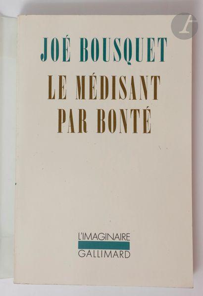 BOUSQUET (Joë). Ensemble de 4 ouvrages :...
