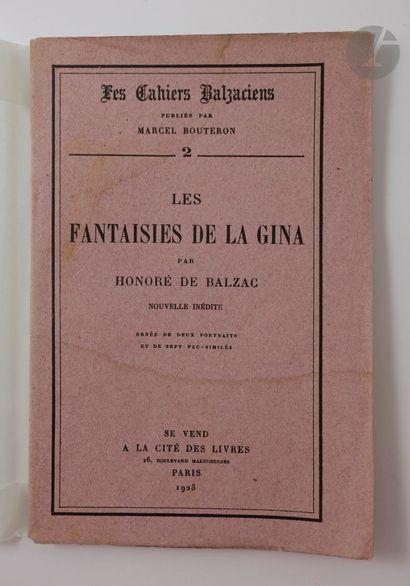BALZAC (Honoré de). La Peau de chagrin. Paris...