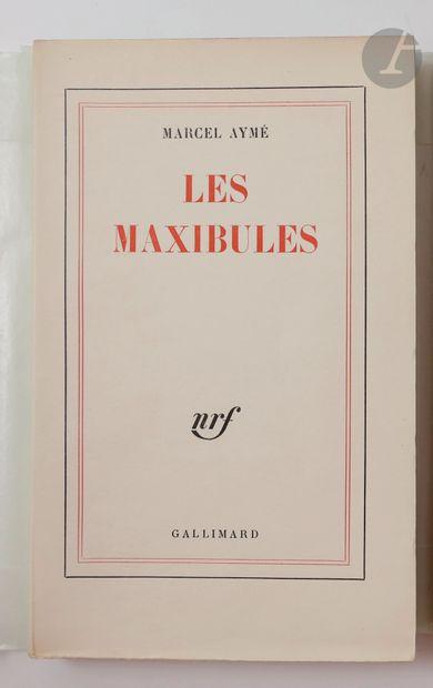 AYMÉ (Marcel). Les Maxibules. Paris : Gallimard,...