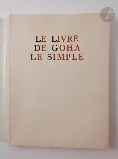 ADÈS (Albert) - JOSIPOVICI (Albert). Le Livre...