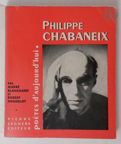 CHABANEIX (Philippe). Ensemble de 7 éditions...