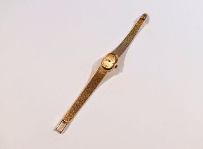OMEGA. Vers 1960  Montre bracelet pour femme...