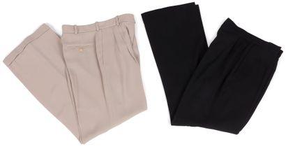 Yves Saint Laurent Rive Gauche  4 pantalons...