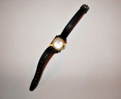 RICHARDS  Montre bracelet pour femme en or 18K (750), cadran blanc, mouvement à...