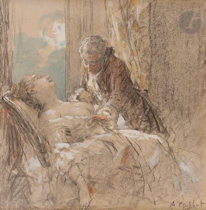 Antoine CALBET (Engayrac 1860 - Paris 1942)...
