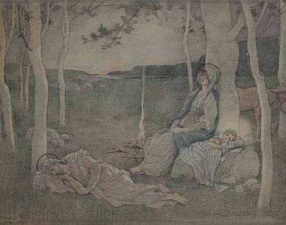 Élisabeth SONREL (Tours 1874 - Sceaux 1953)...