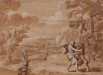 Michel CORNEILLE (Paris 1642 - 1708)  Samson...