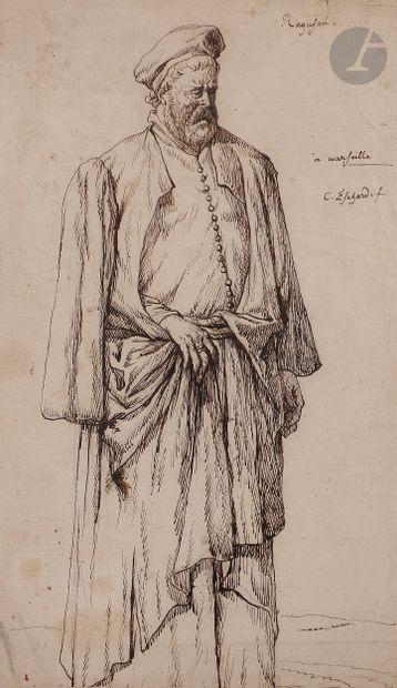Charles ESCHARD (Caen 1748 - Paris 1810)...
