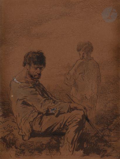 Paul GAVARNI (Paris 1804 - 1866)  Considération...