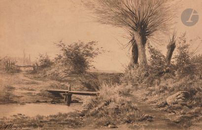 Auguste ALLONGÉ (Paris 1833 - Bourron-Marlotte...
