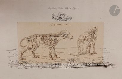Élie Honoré MONTAGNY (Paris c,1795 - 1864)...