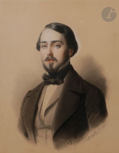 Albert GRAEFLE (Fribourg 1807 - Munich 1889)...