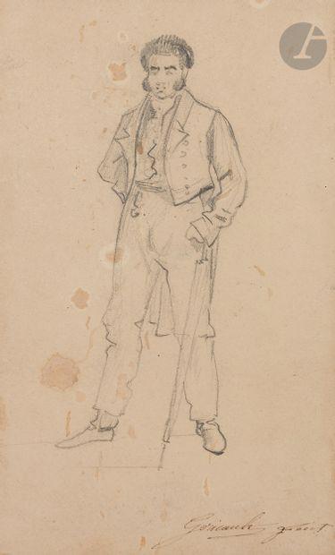 Théodore GÉRICAULT (Rouen 1791 - Paris 1824)...