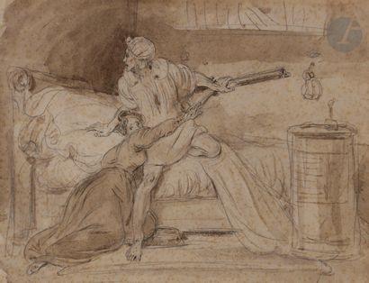 Théophile FRAGONARD (Paris 1806 - Neuilly-sur-Seine...