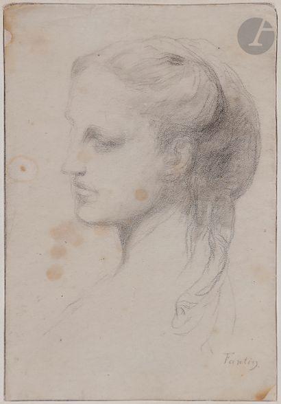 Henri FANTIN-LATOUR (Grenoble 1836 - Bure...