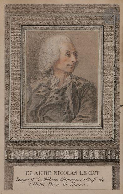 Attribué à Louis-Richard FRANCOIS DUPONT DIT DUPONT DE MONTFIQUET (Montfiquet 1734...
