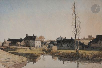 Henri-Joseph HARPIGNIES (Valenciennes 1819...