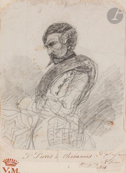 Pierre PUVIS DE CHAVANNES (Paris 1824 - Lyon...