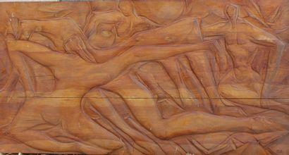 Roger DESSERPRIT (1923-1985)  Femmes nues,...