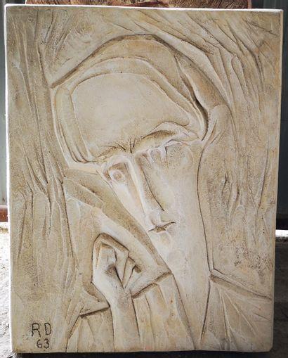 Roger DESSERPRIT (1923-1985)  Rêverie, 1963...