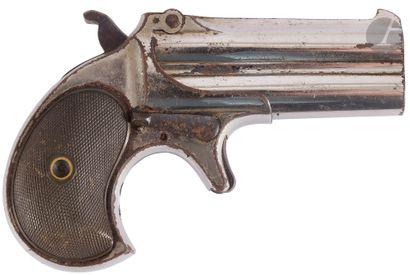 Pistolet Deringer Remington Over-Under, deux...