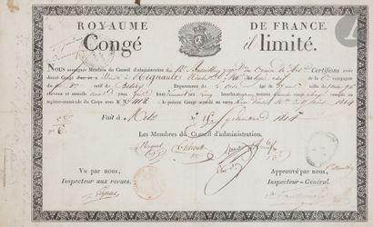 Congé illimité au nom de Nicolas Regnault,...