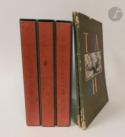 Ensemble de volumes et recueils militaires....