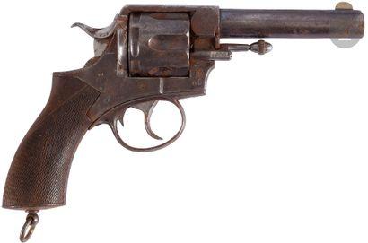 Revolver P. Webley Ric, six coups, calibre...