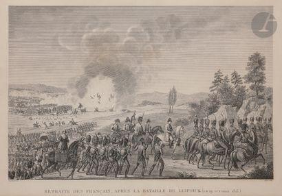 NAPOLÉON Deux gravures de Napoléon : – L'Empereur...
