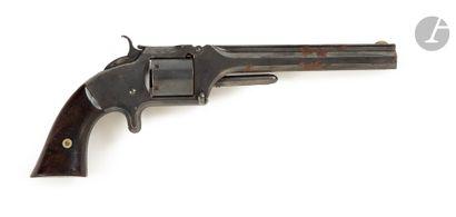 Revolver Smith & Wesson n°2, six coups, calibre...