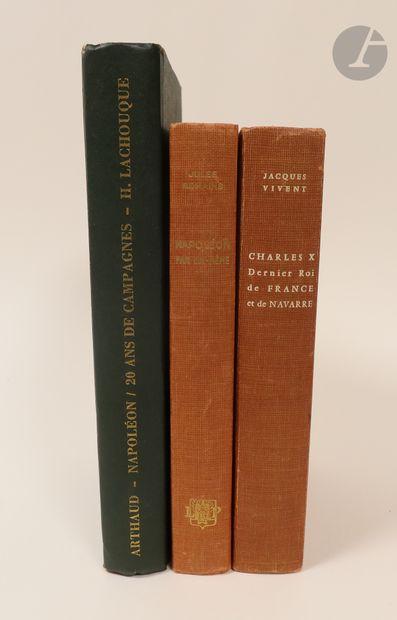 Ensemble de deux volumes sur Napoléon. –...